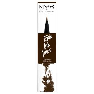 Delineador Epic Ink da NYX Professional Makeup - Brown