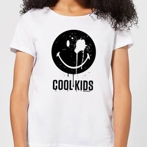 Smiley World Slogan Cool Kids Women's T-Shirt - White