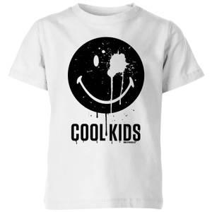 Smiley World Slogan Cool Kids Kids' T-Shirt - White