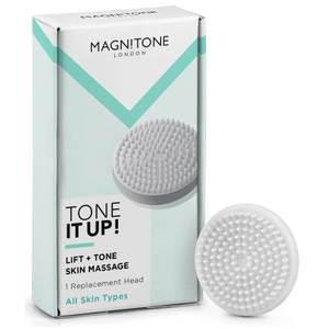 Magnitone London Barefaced 2 Tone It Up! Massaging Brush Head - 1 Pack