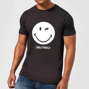 Smiley World Large Smiley Men's T-Shirt - Black