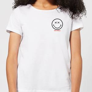 Smiley World Pocket Smiley Women's T-Shirt - White
