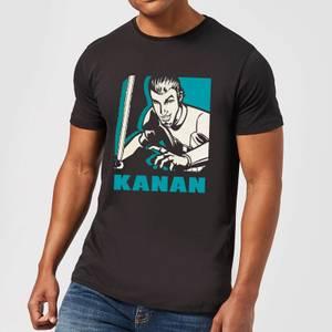 T-Shirt Homme Kanan Star Wars Rebels - Noir