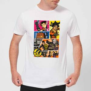 Star Wars Rebels Comic Strip Men's T-Shirt - White