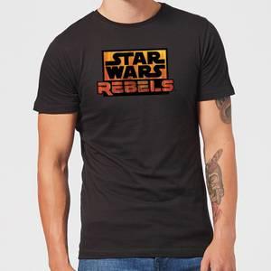 T-Shirt Homme Logo Star Wars Rebels - Noir