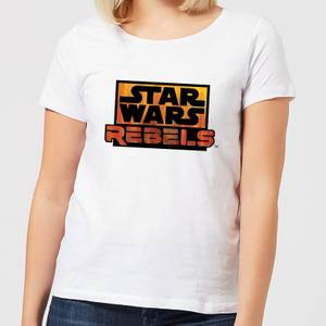 Star Wars Rebels Logo Women's T-Shirt - White