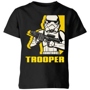 Star Wars Rebels Trooper Kids' T-Shirt - Black