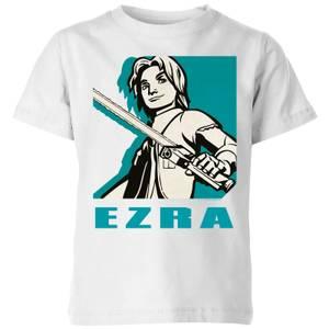 Star Wars Rebels Ezra Kids' T-Shirt - White