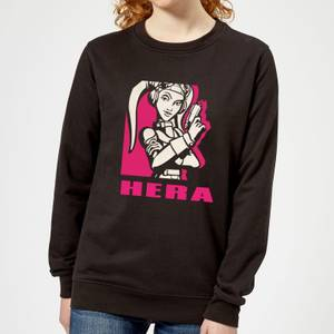 Felpa Star Wars Rebels Hera - Nero - Donna