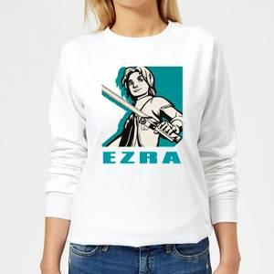 Felpa Star Wars Rebels Ezra - Bianco - Donna