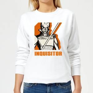 Felpa Star Wars Rebels Inquisitor - Bianco - Donna