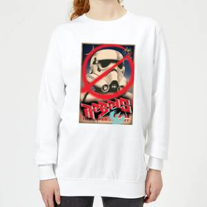 Felpa Star Wars Rebels Poster - Bianco - Donna