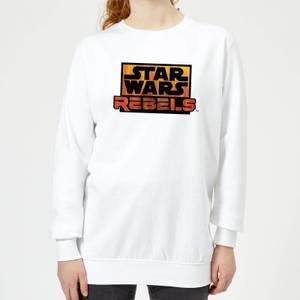 Felpa Star Wars Rebels Logo - Bianco - Donna