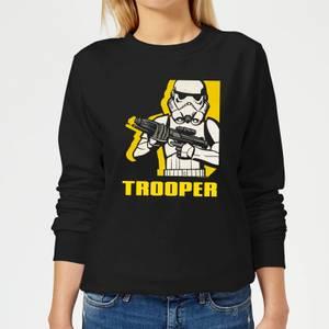 Felpa Star Wars Rebels Trooper - Nero - Donna