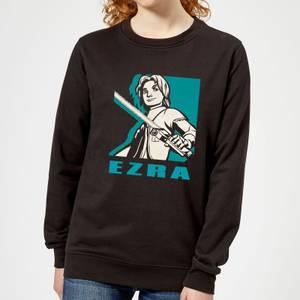 Felpa Star Wars Rebels Ezra - Nero - Donna