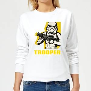 Sweat Femme Trooper Star Wars Rebels - Blanc