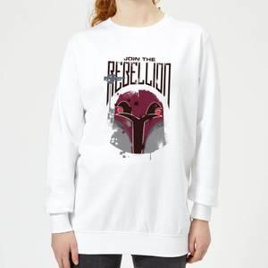 Star Wars Rebels Rebellion Women's Sweatshirt - White