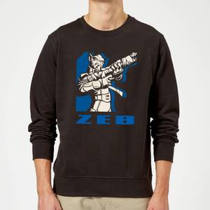 Star Wars Rebels Zeb Sweatshirt - Black