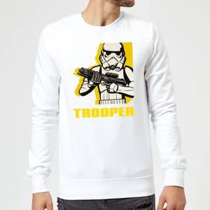 Star Wars Rebels Trooper Sweatshirt - White