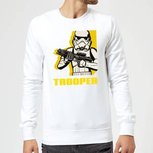 Felpa Star Wars Rebels Trooper- Bianco