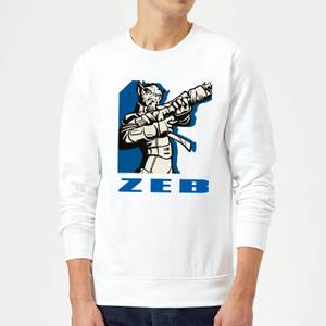 Star Wars Rebels Zeb Sweatshirt - White