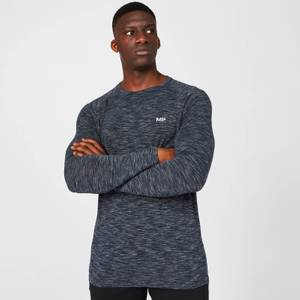 MP Men's Performance Long Sleeve Top - Navy Marl