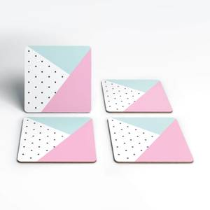 Cute Pattern Coasters (Pack of 4)