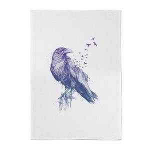 Balazs Solti Birds Flying Cotton Tea Towel