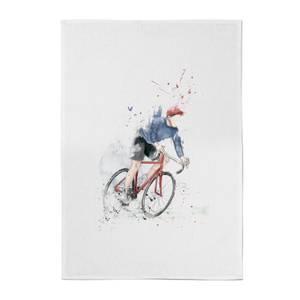Balazs Solti Cycler Cotton Tea Towel