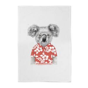Balazs Solti Koala Bear Cotton Tea Towel
