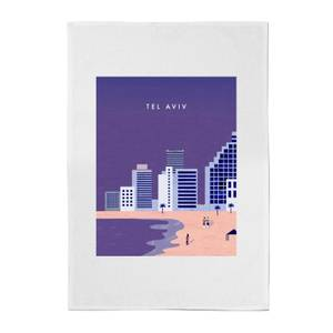 PlanetA444 Tel Aviv Cotton Tea Towel