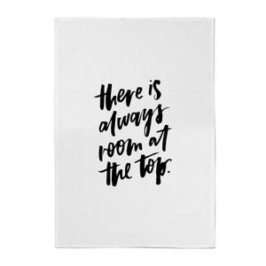 PlanetA444 There Is Always Room At The Top Cotton Tea Towel