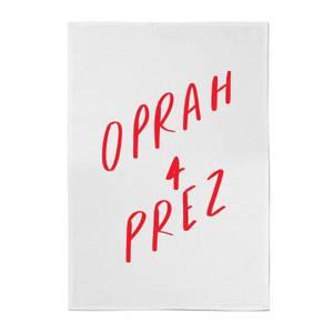 Rock On Ruby Oprah 4 Prez Cotton Tea Towel
