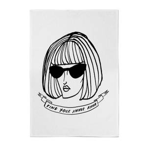 Rock On Ruby Find Your Inner Anna Cotton Tea Towel