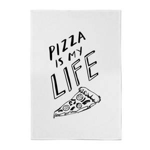 Pizza Is My Life Cotton Tea Towel