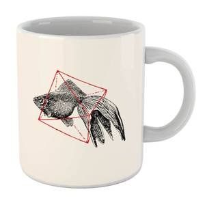 Florent Bodart Fish In Geometry Mug