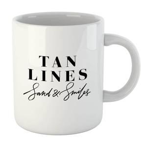PlanetA444 Tan Lines, Sand and Smiles Mug