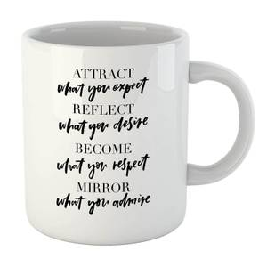 PlanetA444 Attract What You Expect Mug