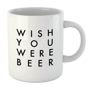 PlanetA444 Wish You Were Beer Mug