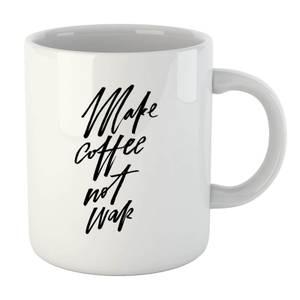 PlanetA444 Make Coffee Not War Mug