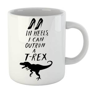 Rock On Ruby In Heels I Can Outrun A T-Rex Mug