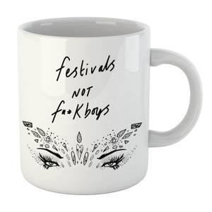 Rock On Ruby Festivals Not F**k Boys Mug