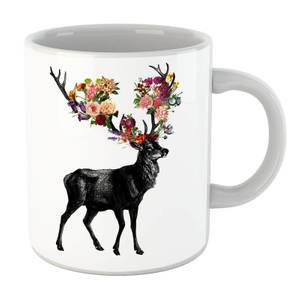 Tobias Fonseca Spring Itself Deer Floral Mug
