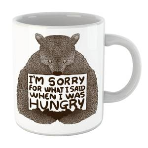 Tobias Fonseca Sorry for What I Said When I Was Hungry Mug