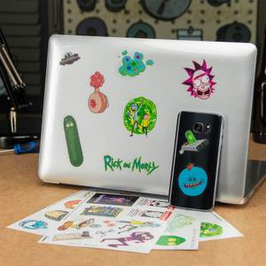 Rick and Morty Gadget Decals