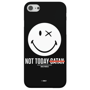 Coque Smartphone Not Today Satan - Smiley World pour iPhone et Android