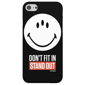 Coque Smartphone Don't Fit In, Stand Out - Smiley World pour iPhone et Android