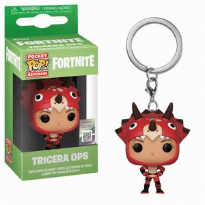 Fortnite Tricera Ops Funko Pop! Keychain