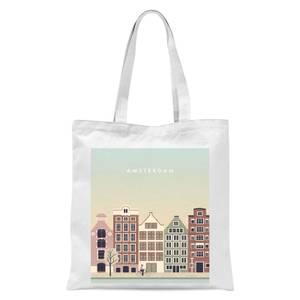 Amsterdam Tote Bag - White