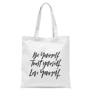 PlanetA444 Be Yourself Tote Bag - White